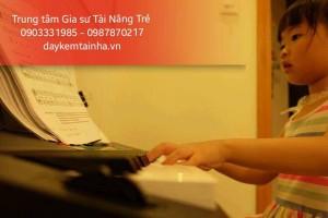 Tìm gia sư dạy đàn Organ tại quận 7